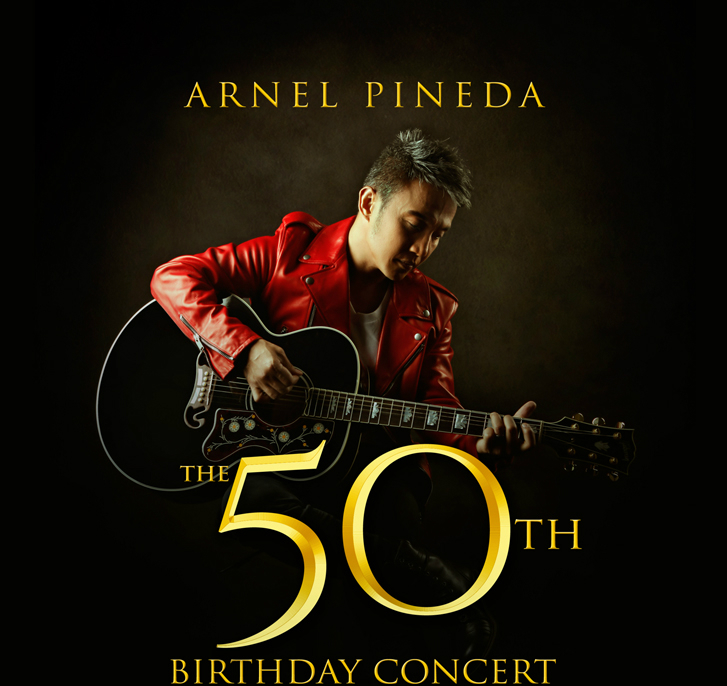Arnel Pineda Set to Hold 50th Birthday Concert