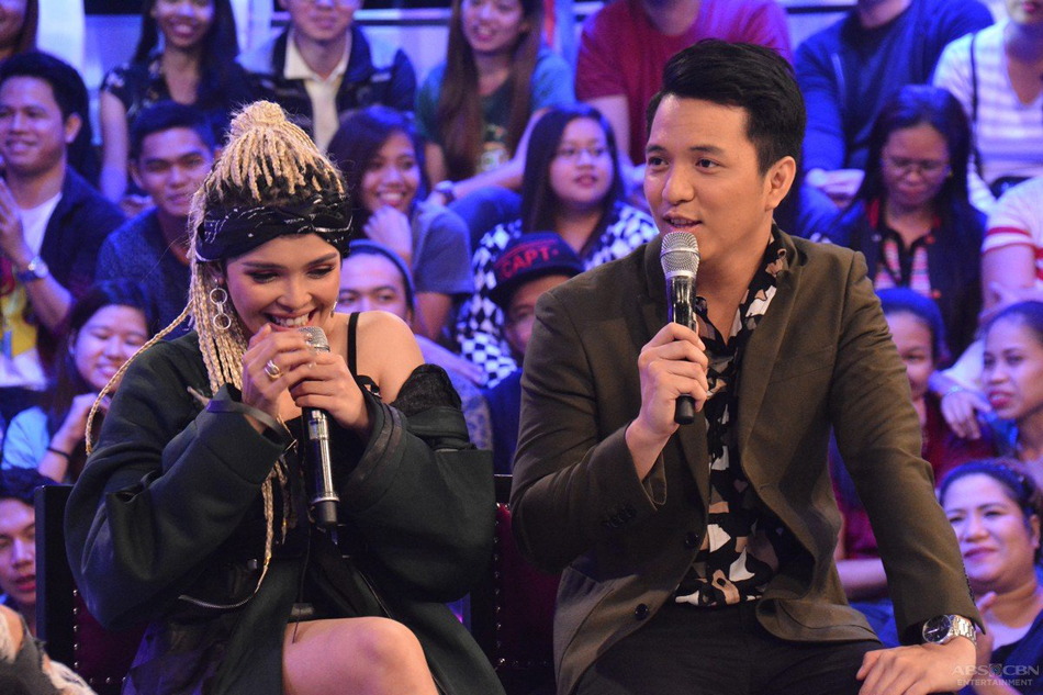 WATCH: KZ Tandingan sings original song for TJ Monterde and he 'didn't like it'