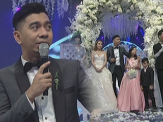 """Teddy Corpuz remarries wife on """"It's Showtime"""""""