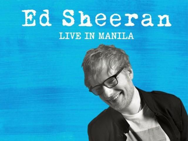 Ed Sheeran X Tour Manila