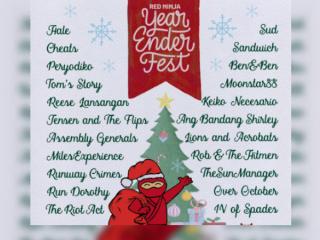 Red Ninja year ender fest happening in December!