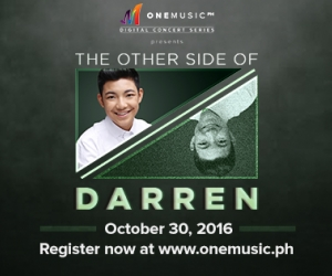 One Music Digital Concert Series Presents: The Other Side of Darren