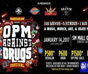 Rakrakan Presents: OPM Againsts Drugs Music Festival