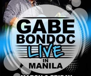 Gabe Bondoc Live in Manila