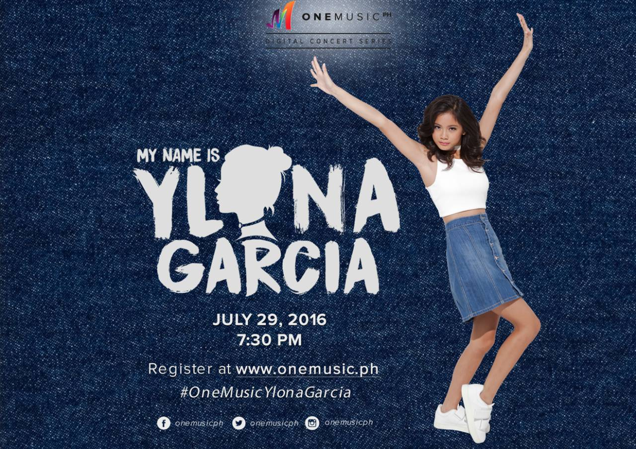 My Name is Ylona: Ylona Garcia Digital Concert (2016)